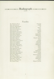 Page 7, 1919 Edition, Winona High School - Radiograph Yearbook (Winona, MN) online yearbook collection