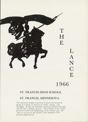 Page 5, 1966 Edition, St Francis High School - Lance Yearbook (St Francis, MN) online yearbook collection