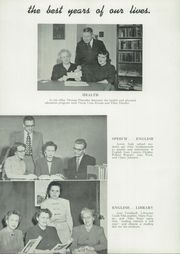 Page 10, 1951 Edition, New Ulm High School - Lavender and White Yearbook (New Ulm, MN) online yearbook collection