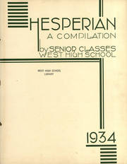 Page 3, 1934 Edition, West High School - Hesperian Yearbook (Minneapolis, MN) online yearbook collection