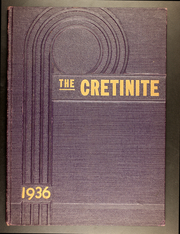 Page 1, 1936 Edition, Cretin High School - Cretinite Yearbook (St Paul, MN) online yearbook collection