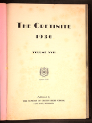 Page 5, 1936 Edition, Cretin High School - Cretinite Yearbook (St Paul, MN) online yearbook collection