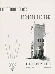 Page 5, 1947 Edition, Cretin High School - Cretinite Yearbook (St Paul, MN) online yearbook collection