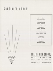 Page 6, 1947 Edition, Cretin High School - Cretinite Yearbook (St Paul, MN) online yearbook collection
