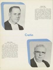 Page 12, 1956 Edition, Cretin High School - Cretinite Yearbook (St Paul, MN) online yearbook collection