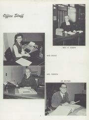 Page 11, 1959 Edition, Cretin High School - Cretinite Yearbook (St Paul, MN) online yearbook collection