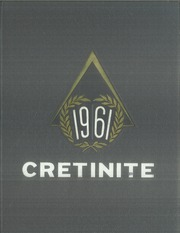 Page 1, 1961 Edition, Cretin High School - Cretinite Yearbook (St Paul, MN) online yearbook collection