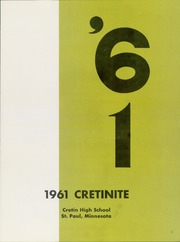 Page 5, 1961 Edition, Cretin High School - Cretinite Yearbook (St Paul, MN) online yearbook collection