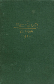 Page 1, 1910 Edition, Central High School - Centralian Yearbook (Minneapolis, MN) online yearbook collection