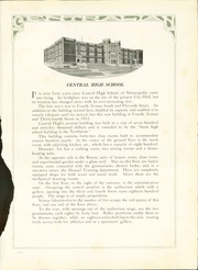 Page 15, 1916 Edition, Central High School - Centralian Yearbook (Minneapolis, MN) online yearbook collection