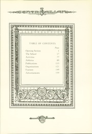 Page 11, 1925 Edition, Central High School - Centralian Yearbook (Minneapolis, MN) online yearbook collection
