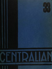 Page 1, 1933 Edition, Central High School - Centralian Yearbook (Minneapolis, MN) online yearbook collection