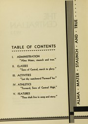 Page 6, 1933 Edition, Central High School - Centralian Yearbook (Minneapolis, MN) online yearbook collection