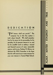 Page 8, 1933 Edition, Central High School - Centralian Yearbook (Minneapolis, MN) online yearbook collection