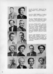 Page 16, 1953 Edition, Central High School - Centralian Yearbook (Minneapolis, MN) online yearbook collection