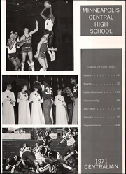 Page 5, 1971 Edition, Central High School - Centralian Yearbook (Minneapolis, MN) online yearbook collection