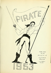 Page 5, 1953 Edition, Victoria College - Pirate Yearbook (Victoria, TX) online yearbook collection