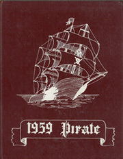 1959 Edition, Victoria College - Pirate Yearbook (Victoria, TX)