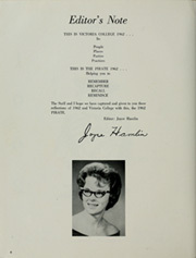 Page 8, 1962 Edition, Victoria College - Pirate Yearbook (Victoria, TX) online yearbook collection