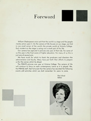 Page 8, 1963 Edition, Victoria College - Pirate Yearbook (Victoria, TX) online yearbook collection