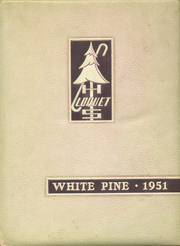 1951 Edition, Cloquet High School - White Pine Yearbook (Cloquet, MN)