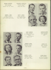 Page 12, 1951 Edition, Cloquet High School - White Pine Yearbook (Cloquet, MN) online yearbook collection