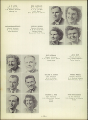 Page 14, 1951 Edition, Cloquet High School - White Pine Yearbook (Cloquet, MN) online yearbook collection