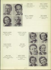 Page 15, 1951 Edition, Cloquet High School - White Pine Yearbook (Cloquet, MN) online yearbook collection