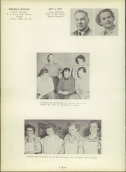 Page 16, 1951 Edition, Cloquet High School - White Pine Yearbook (Cloquet, MN) online yearbook collection