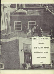 Page 5, 1951 Edition, Cloquet High School - White Pine Yearbook (Cloquet, MN) online yearbook collection