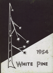 1954 Edition, Cloquet High School - White Pine Yearbook (Cloquet, MN)