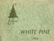 1956 Edition, Cloquet High School - White Pine Yearbook (Cloquet, MN)