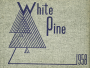 1958 Edition, Cloquet High School - White Pine Yearbook (Cloquet, MN)