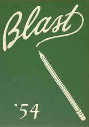 1954 Edition, Greenway High School - Blast Yearbook (Coleraine, MN)