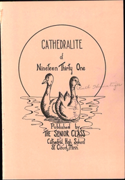 Page 7, 1931 Edition, Cathedral High School - Cathedralite Yearbook (St Cloud, MN) online yearbook collection