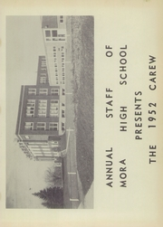 Page 5, 1952 Edition, Mora High School - Carew Yearbook (Mora, MN) online yearbook collection