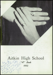 Page 5, 1952 Edition, Aitkin High School - A Book Yearbook (Aitkin, MN) online yearbook collection