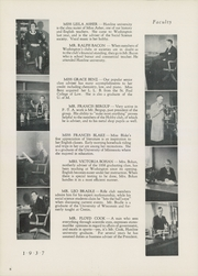 Page 12, 1937 Edition, Washington High School - President Yearbook (St Paul, MN) online yearbook collection