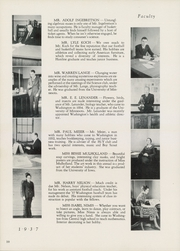 Page 14, 1937 Edition, Washington High School - President Yearbook (St Paul, MN) online yearbook collection