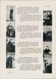 Page 15, 1937 Edition, Washington High School - President Yearbook (St Paul, MN) online yearbook collection