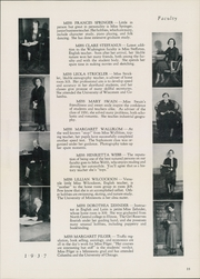 Page 17, 1937 Edition, Washington High School - President Yearbook (St Paul, MN) online yearbook collection