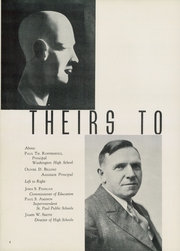 Page 8, 1937 Edition, Washington High School - President Yearbook (St Paul, MN) online yearbook collection
