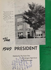 Page 5, 1949 Edition, Washington High School - President Yearbook (St Paul, MN) online yearbook collection