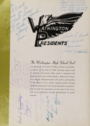 Page 8, 1950 Edition, Washington High School - President Yearbook (St Paul, MN) online yearbook collection