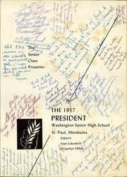Page 5, 1957 Edition, Washington High School - President Yearbook (St Paul, MN) online yearbook collection