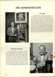 Page 8, 1957 Edition, Washington High School - President Yearbook (St Paul, MN) online yearbook collection