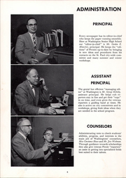 Page 10, 1958 Edition, Washington High School - President Yearbook (St Paul, MN) online yearbook collection