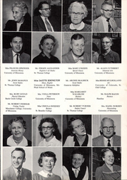 Page 11, 1958 Edition, Washington High School - President Yearbook (St Paul, MN) online yearbook collection