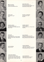 Page 17, 1958 Edition, Washington High School - President Yearbook (St Paul, MN) online yearbook collection