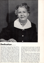 Page 7, 1958 Edition, Washington High School - President Yearbook (St Paul, MN) online yearbook collection